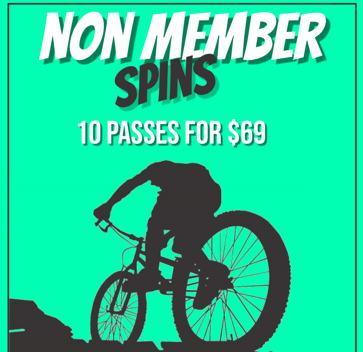 NON MEMBER SPIN PASSES