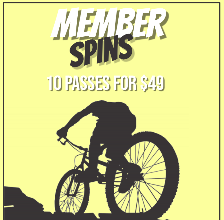 MEMBER SPINS - 10 PASSES