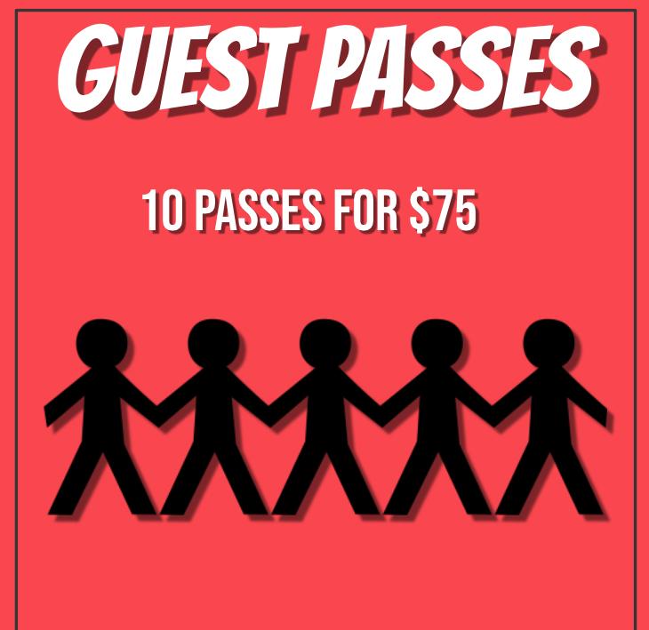 10 Guest Passes