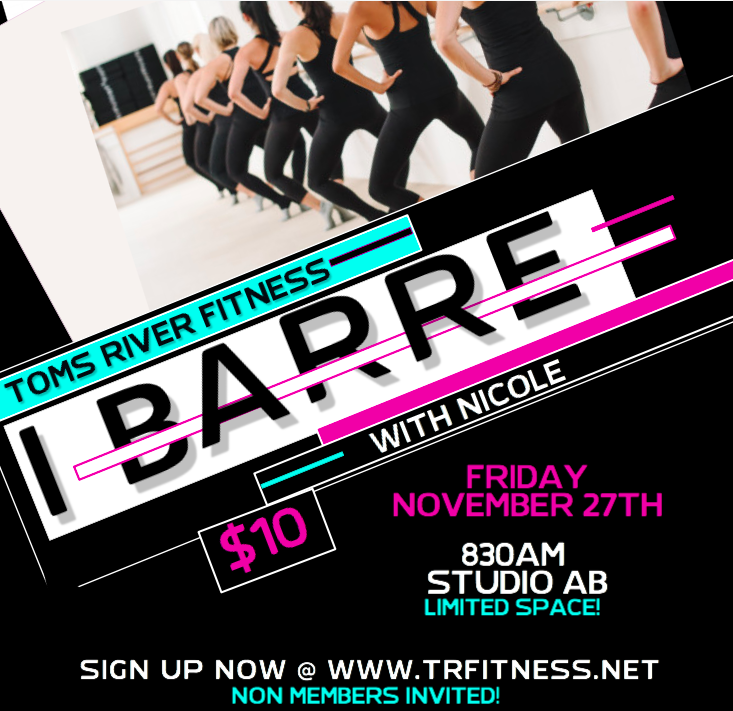 11/27 830AM BARRE WITH NICOLE