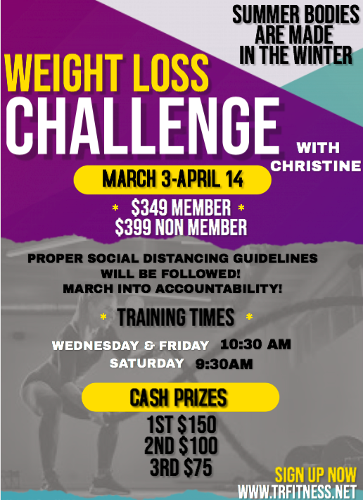 *WEIGHT LOSS CHALLENGE* 2021