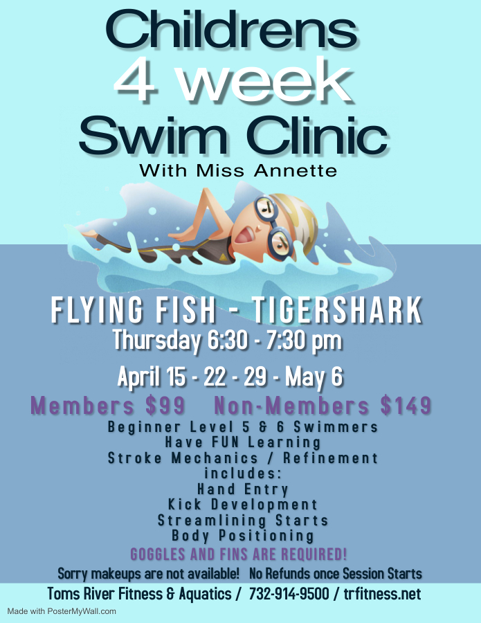 *TIGER SHARK/FLYING FISH CLINIC* Annette