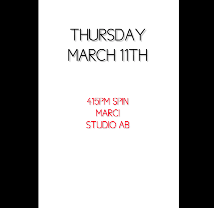 3/11 415PM SPIN MARCI